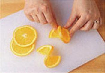 Как из апельсин сделать розу